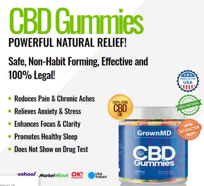 GrownMD CBD Gummies Scam Reviews- Crowdera
