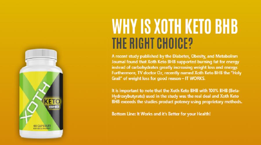 Xoth Keto Bhb Reviews – Fake or Real Results? Official