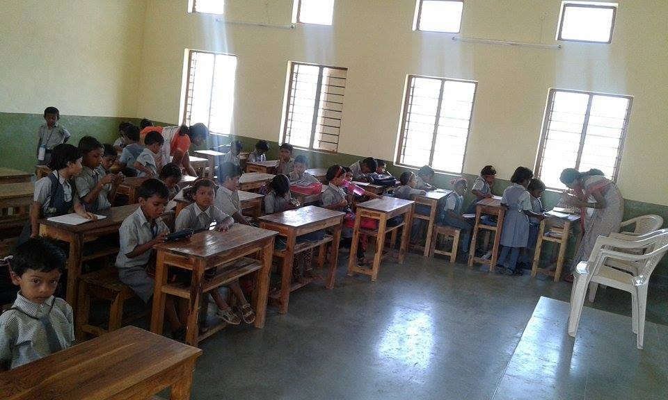 Sponsor education of students in rural India