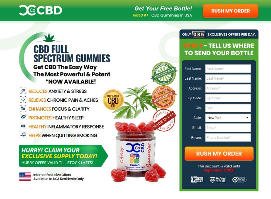 Curts Concentrates CBD Gummies : Fake Or Scam