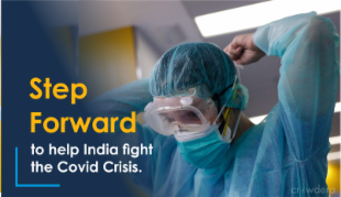 Support India's fight against Covid-19 pandemic