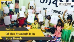 Support Underprivileged ChildrenTo Get them their Dream Digital Classroom