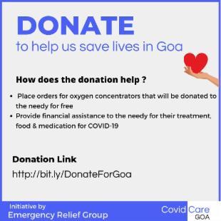 Goa COVID-19 Emergency Relief