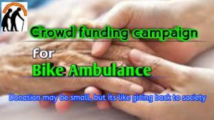 Donate for Elders Bike Ambulance
