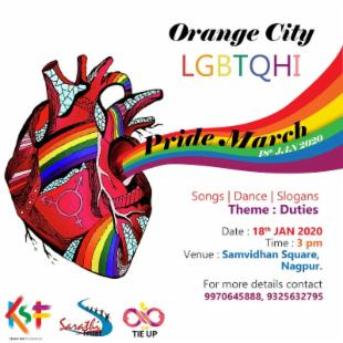 Orange City (Nagpur) LGBTQHI Pride March 2020
