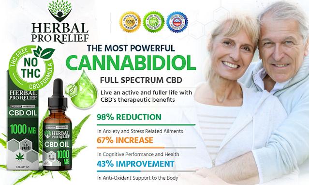 Herbal Pro Relief CBD Oil Reviews